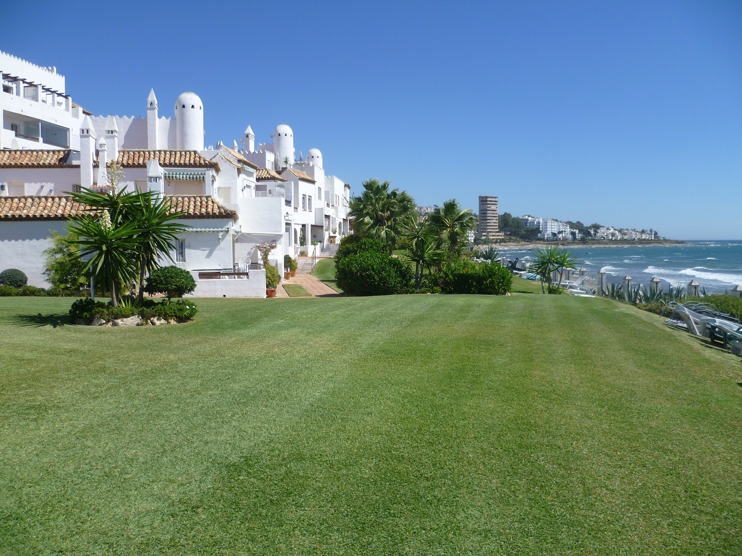 Apartments in Mijas Costa - 7345 - Beach Front Penthouse