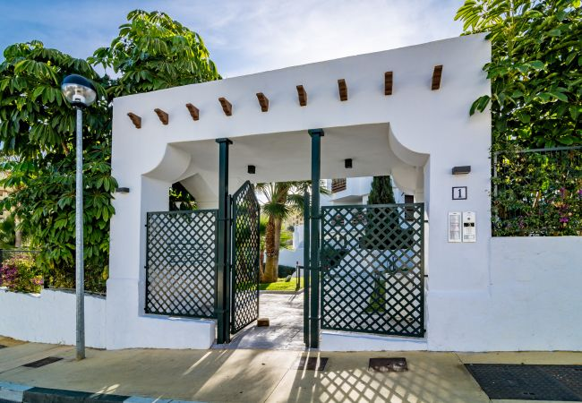 Entrance of 2 Bedroom Holiday Apartment with Pool and terrace in Estepona
