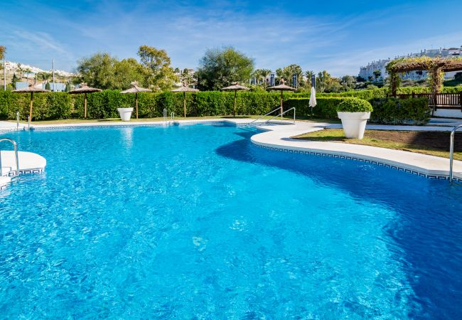 Swimming pool of 2 Bedroom Holiday Apartment with Pool and terrace in Estepona