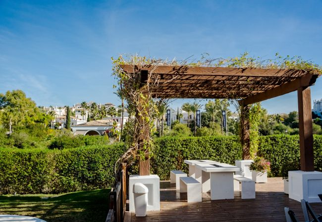 Exterior of 2 Bedroom Holiday Apartment with Pool and terrace in Estepona