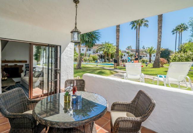 Terrace of Magnificent apartment in Nueva Andalucia
