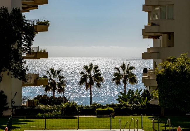 Views of Beachfront Penthouse in Marbella Center