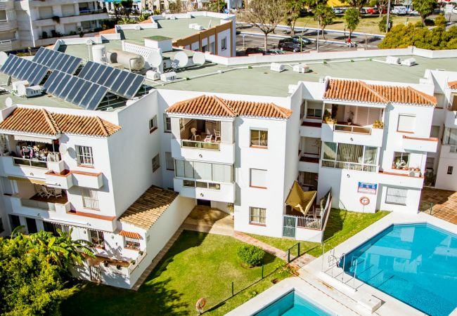 Swimming Pool of Beachfront Penthouse in Marbella Center