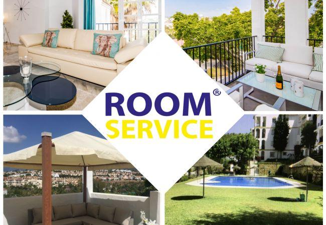 Apartment in Estepona - CNA - Spacious Contemporary Apt & Roof top terrace