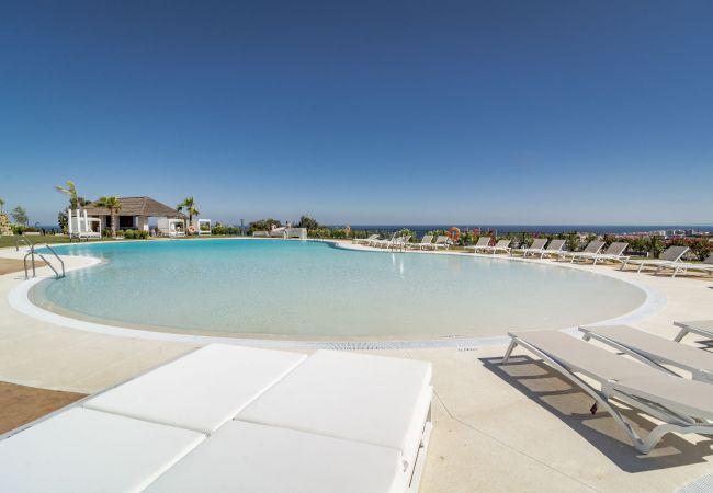 Apartment in Estepona - EH-Mirador de Estepona Hills, sea view, gym, pool