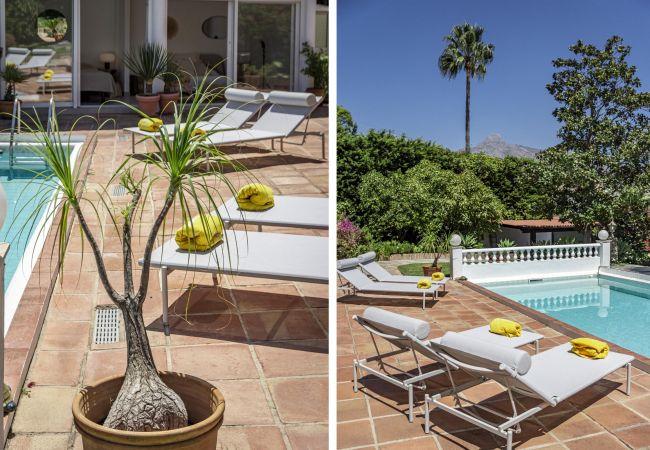 Villa in Nueva andalucia - FJ- Private finca, 8 sleep, stunning views
